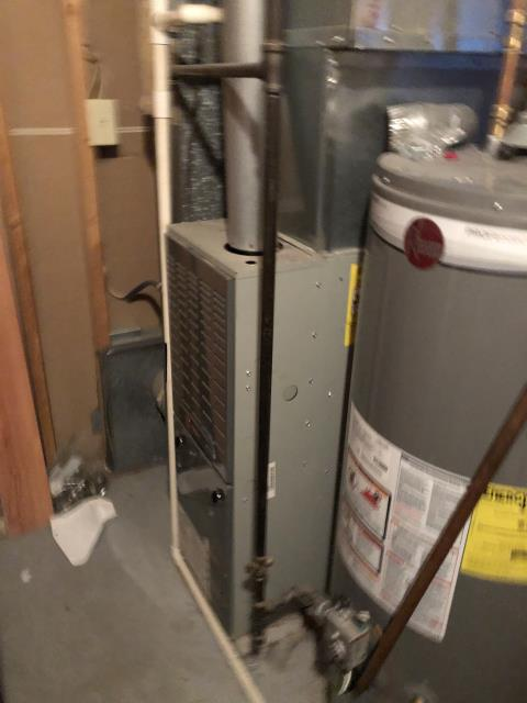 Dublin, OH - 	System was locked out upon arrival, reset system. System came on and ran fine. Flame sensor was reading low. House has 2 returns and 1 was blocked completely.client cleaned obstruction. System may have over heated too many times and locked out due to the blocked return vent. At this time the furnace is heating but advised client it may also be an intermittent issue.