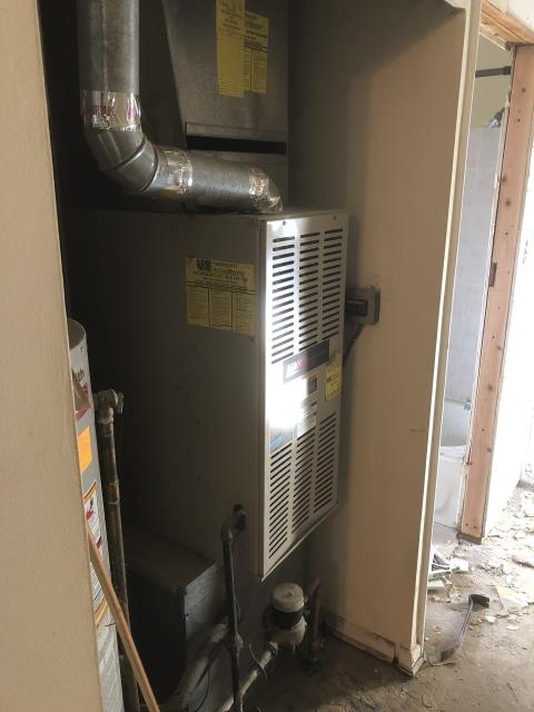Columbus, OH - Real Estate Inspection performed on Customers HVAC system.
