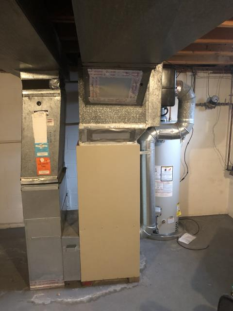 Hilliard, OH - One of our talented technicians went to the customer's home and Replace OEM Main Circuit Board on a Gas Lennox Furnace Unit.  Pictured is the customer's Lennox Gas Furnace Unit.