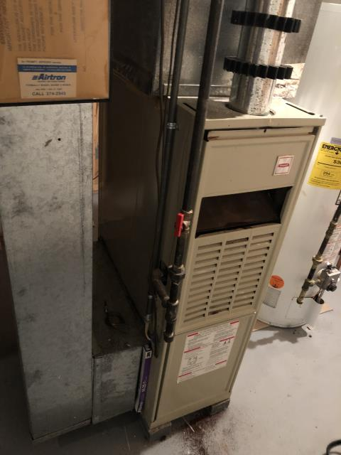 Dublin, OH - Diagnostic Performed Adjusted Gas Pressures & Fan Speed On Bryant Gas Furnace To Keep Furnace Running At Highest Performance For The Winter Season