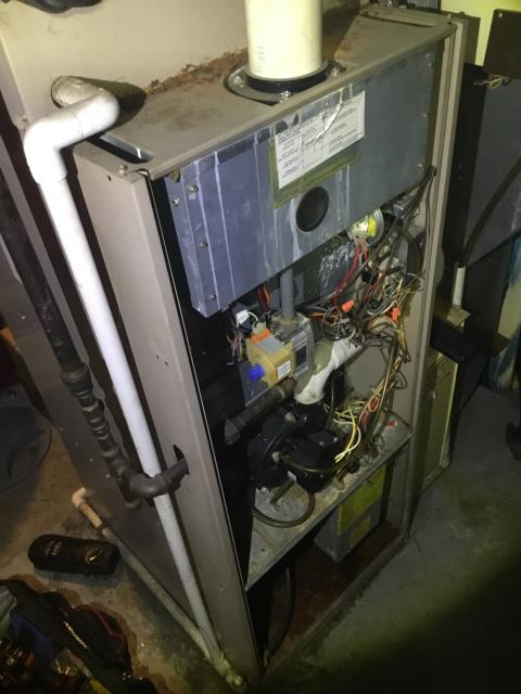 Columbus, OH - Diagnostic Performed Recommended Replacing Gas Valve Single Stage On York Gas Furnace To Keep Furnace Running Efficiently For The Winter Season