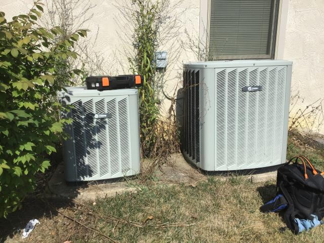 Galena, OH - Re-evaluated Trane AC system when different level amps were detected. After going over system, found no issues. Will monitor the situation and address any issues that may arise.