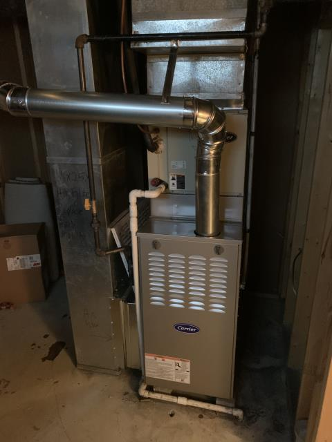 Bexley, OH - I installed a Carrier 80% 70,000 BTU Gas Furnace