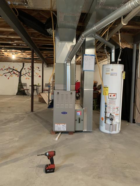 Pickerington, OH - I installed a Carrier 80% 45,000 BTU Gas Furnace