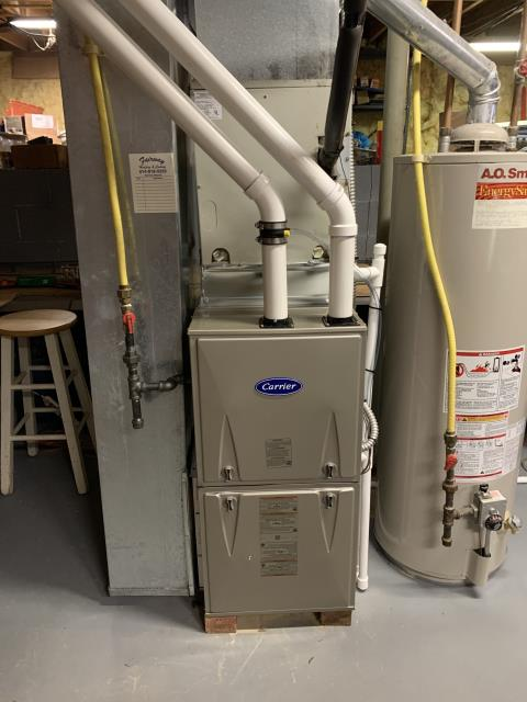 Groveport, OH - I installed a Carrier 96% 60,000 BTU Gas Furnace