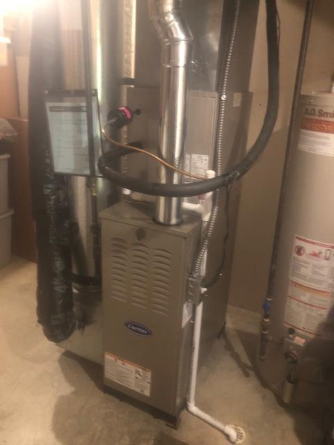 Blacklick, OH - I performed a tune up on a Carrier gas furnace. Everything checked out within specs. System is operational upon departure.