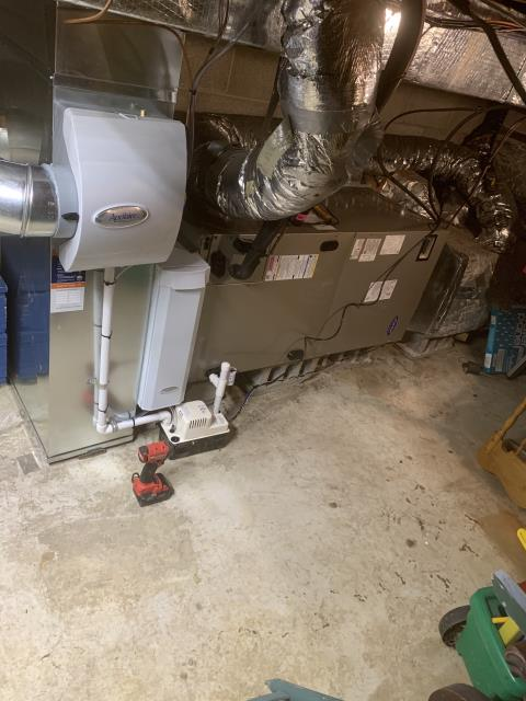 """Hilliard, OH - I installed a Five Star Multi-Speed 4 Ton Electric Furnace / """"A"""" Coil and a Carrier 14 SEER 4 Ton Heat Pump. I cycled the system to ensure everything was working. System is operational upon departure."""
