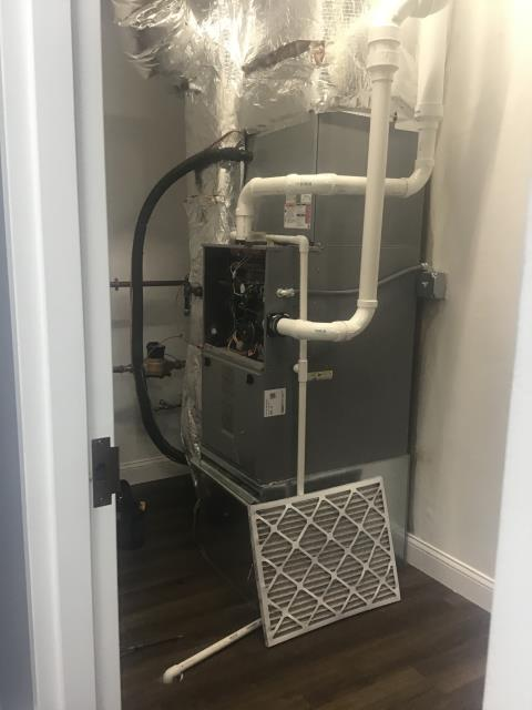 Dublin, OH - I found 2019 Comformaker gas furnace was in code 7 thermal lockout. The filter was dirty so I replaced and cycled furnace. Due to high traffic business, filter must be replaced every month. No further issues at this time.