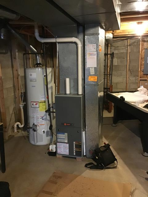 Pickerington, OH - I installed a Five Star 96% Gas Furnace to replace a 2007 Trane gas furnace. All readings are within manufacturers specifications at this time.