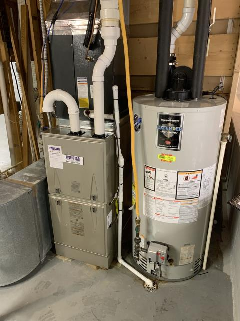 Delaware, OH - I installed a Five Star 96% Gas Furnace to replace old furnace that had a cracked heat exchanger. All readings are within manufacturers specifications at this time.