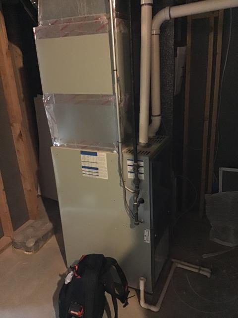 Dublin, OH - I performed a tune up on a Trane gas furnace. During tune up, I found there was no filter in the system causing the blower motor to work harder. I advised the customer to install a filter ASAP. System is functional upon departure.