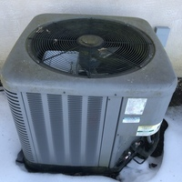 Westerville, OH - Installed a Carrier Variable Speed 3 Ton Electric Furnace, Carrier 16 SEER 3 Ton Heat Pump