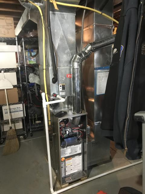 Reynoldsburg, OH - I installed a Carrier 80% 45,000 BTU Gas Furnace. I cycled the system to ensure functionality. System is operational upon departure.