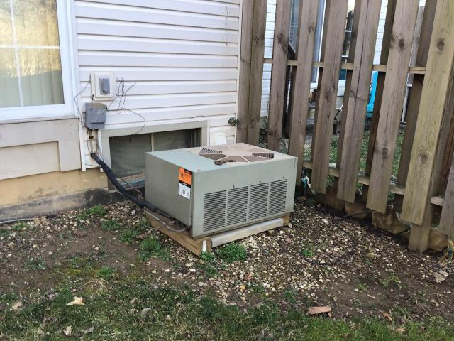 Blacklick, OH - I completed an install of a Carrier 96% 40,000 BTU Gas Furnace and a Carrier 16 SEER 2 Ton Air Conditioner.