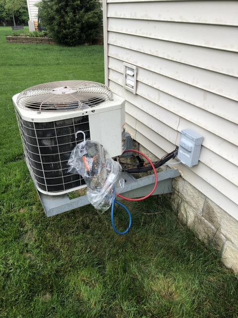 Canal Winchester, OH - I completed diagnostics on 2017 AC unit. I determined the TXV needs replaced and refrigerant added. I explained the the options of repair/ replace the unit. Client will decide and get back with us.