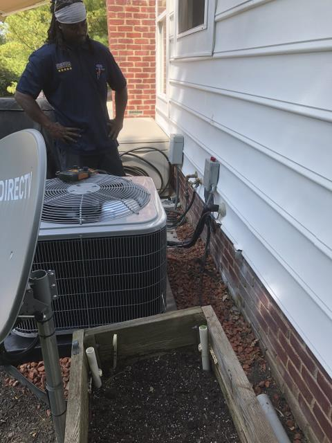 Powell, OH - I completed warranty repair; I replaced the OEM Compressor and the Dual Capacitor. The system is operational upon departure.