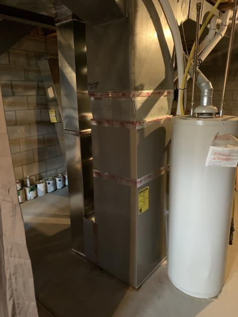 Canal Winchester, OH - I completed a Full Install; Carrier 96% Two-Stage 60,000 BTU Gas Furnace/Carrier up to 17 SEER 2 STAGE 2 Ton Air Conditioner: The system is operational upon departure.