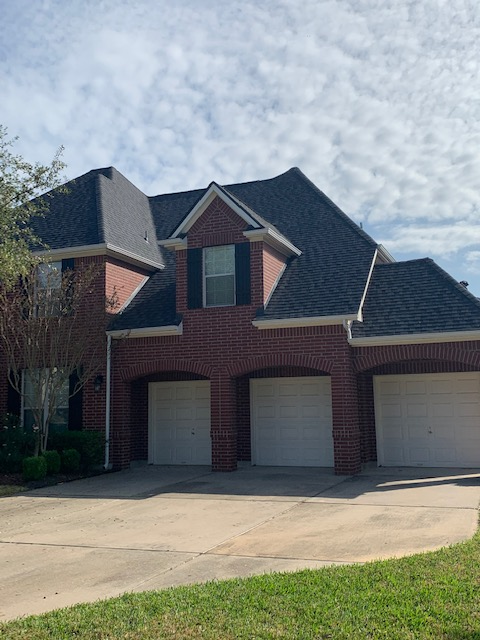 Cypress, TX - This Humble homeowner called us when they noticed water stains in the upper levels of their home. This lead to a roof inspection and eventually a full roof replacement.