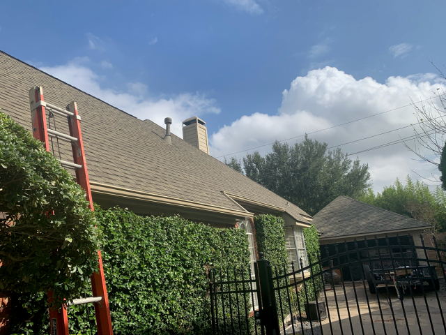 Cypress, TX - After completing a full roof inspection for this Cypress resident, we determined that between the age of the roof and the amount of repairs needed, it was best to replace the roof.