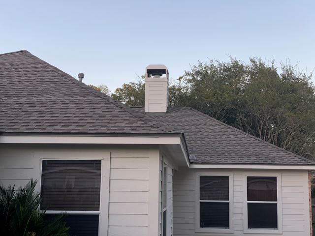 Humble, TX - This sweet Humble homeowner was extremely grateful we were able to complete her roof replacement through her insurance company!