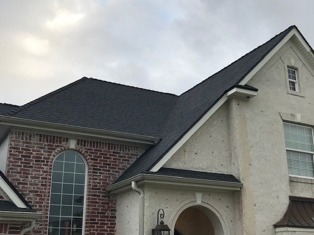 Port Arthur, TX - Such a beautiful choice! This Port Arthur homeowner decided to get a full roof replacement after their inspection revealed major damage from past storms.