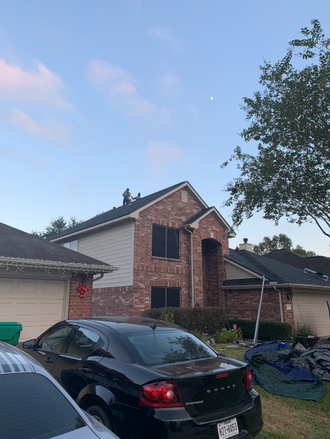 Humble, TX - Great looking roof replacement for this Humble resident! We completed this just before the Thanksgiving holiday!