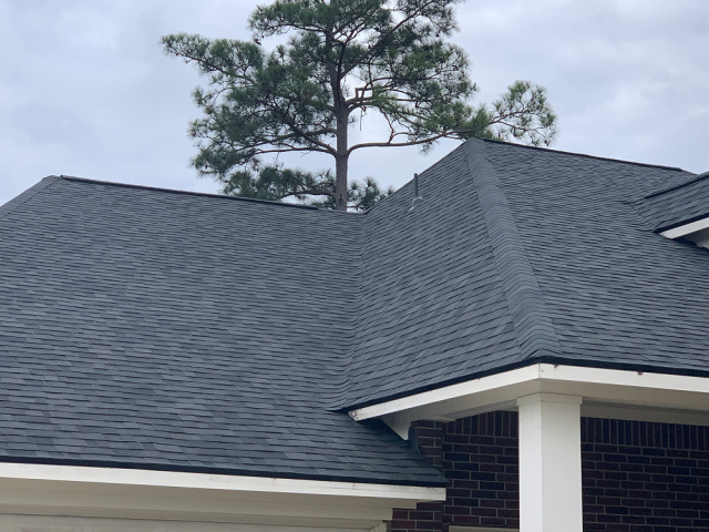 Cypress, TX - Our team responded to this home in Cypress, TX to provide a roof inspections. Come. to find out a small leak and brought not only water damage but mold as well. Mold remediation followed by roof replacement for this family!