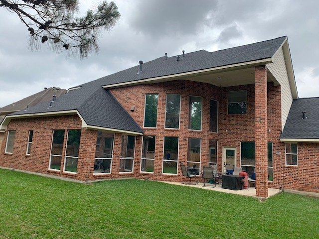 Humble, TX - New roof for this Humble, Tx resident! We were able to complete the replacement prior to the heavy rains.