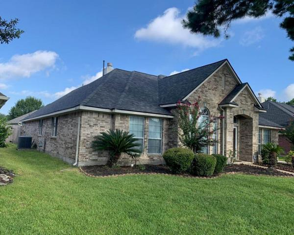Houston, TX - A roof inspection became a roof replacement for this Houston Resident! They went with Malarkey in Storm Grey! Great choice!