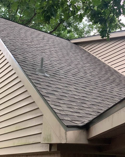 Humble, TX - This homeowner called our team for roof repair. But after a full inspection we determined a roof replacement made more sense for the longevity of this home.