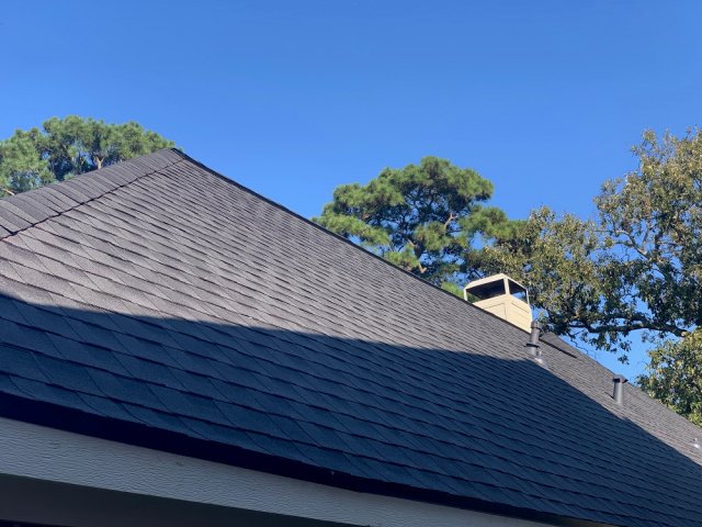 Sealy, TX - Looking good! A new roof for this Sealy home was the only option after years of damage!