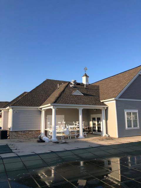 Lewes, DE - Spicer Bros. Roofing preformed a complete tear off and re-roof in Lewes, Delaware using GAF Timberline Ultra HD shingles, a 53 % thicker shingle