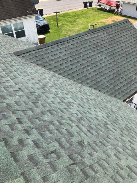 Milford, DE - Spicer Bros. Roofing  is in Milford, Delaware doing a complete tear off and re-roof using GAF TImberline HD shingles in Hunter Green