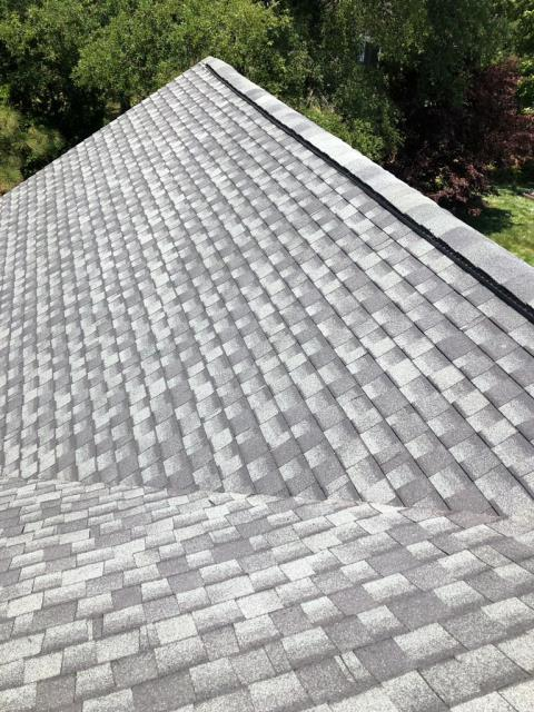 Lewes, DE - Spicer Bros. Roofing is in Lewes, DE doing a tear-off and complete re-roof using Timberline Ultra HD shingles in Slate, Timberline Ultra is a 53% thicker shingle than standard TImberline HD