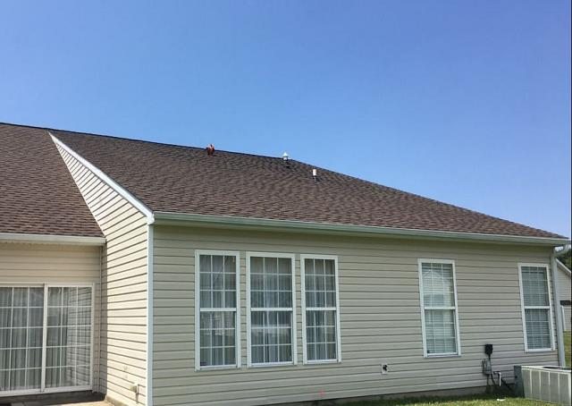 Spicer Bros. Roofing is in Delmar, Delaware installing a brand new GAF Timberline Ultra HD roofing system in Barkwood