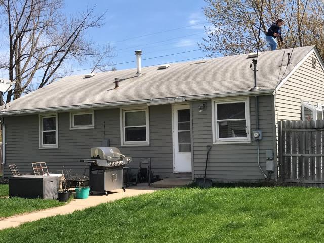 Minneapolis, MN - This homeowner requested a free roof inspection. We did the roof inspection and a State Farm Insurance representative found sufficient hail damage on the roof. We helped the homeowner file a claim with State Farm. We met the insurance adjuster and he agreed there was enough damage. State Farm paid for a full roof replacement. This homeowner chose Tamko Heritage shingles, Rustic Redwood in color. We replaced this roof on May 3rd, 2017.