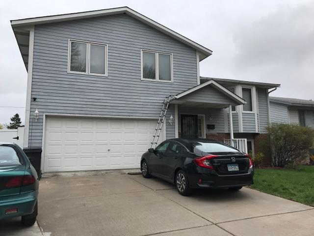 Minneapolis, MN - This homeowner requested a free roof inspection. We did the roof inspection and a Safe-Co Insurance representative found sufficient hail damage on the roof. We helped the homeowner file a claim with Safe-Co. We met the insurance adjuster and he agreed there was enough damage. Safe-Co paid for a full roof replacement. This homeowner chose Tamko Heritage shingles, Black Walnut in color. We replaced this roof on May 5th, 2017.