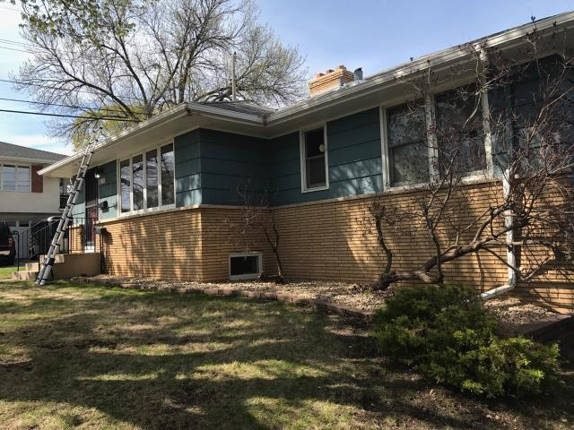 Minneapolis, MN - This homeowner requested a free roof inspection. We did the inspection and found sufficient hail damage on the roof. We helped the homeowner file a claim with their homeowner's insurance, State Farm. We met with the insurance adjuster and they agreed with our findings. State Farm paid for a full roof replacement and new gutters. This homeowner chose GAF Timberline shingles in Pewter Gray. We replaced this roof June 6th, 2017. You may have hail damage and not even know! CALL KAT for your FREE, NO OBLIGATION, ROOF INSPECTION!!! It only takes 15-20 minutes to inspect and we tell you if you have the damage or not. We work with ALL insurance companies! Call KAT Construction TODAY!! 612-326-1122