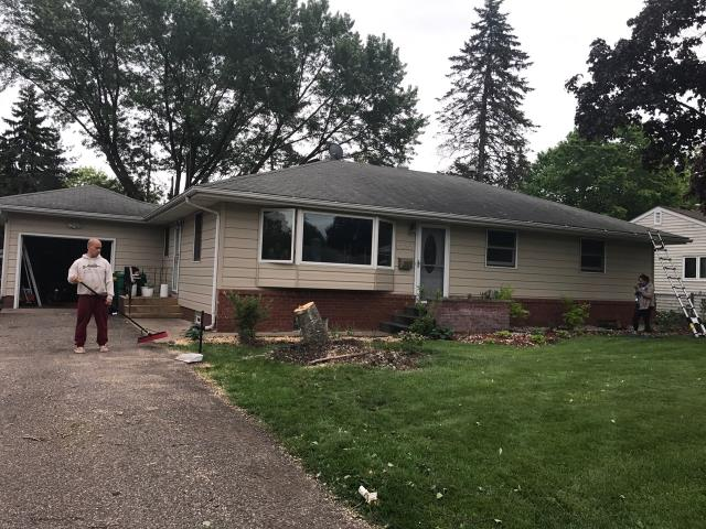 Minneapolis, MN - This homeowner requested a free roof inspection. We did the inspection and found sufficient hail damage. Then we helped the homeowner file a claim with State Farm Insurance. We met with the adjuster and they agreed with our findings. STATE FARM PAID FOR A FULL ROOF REPLACEMENT! This homeowner chose Tamko Heritage shingles, Rustic Redwood in color. We replaced this roof June 1st, 2017. YOU may have HAIL DAMAGE and not even know!CALL KAT for your FREE, NO OBLIGATION, ROOF INSPECTION!!! It only takes 15-20 minutes to inspect and we tell you if you have the damage or not. We work with ALL insurance companies!CALL KAT Construction for your FREE ROOF INSPECTION TODAY!! 612-326-1122