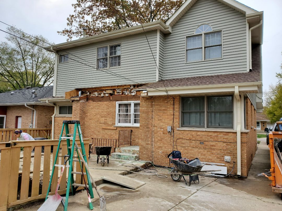 Itasca, IL - Demo done on the addition in progress in Itasca!