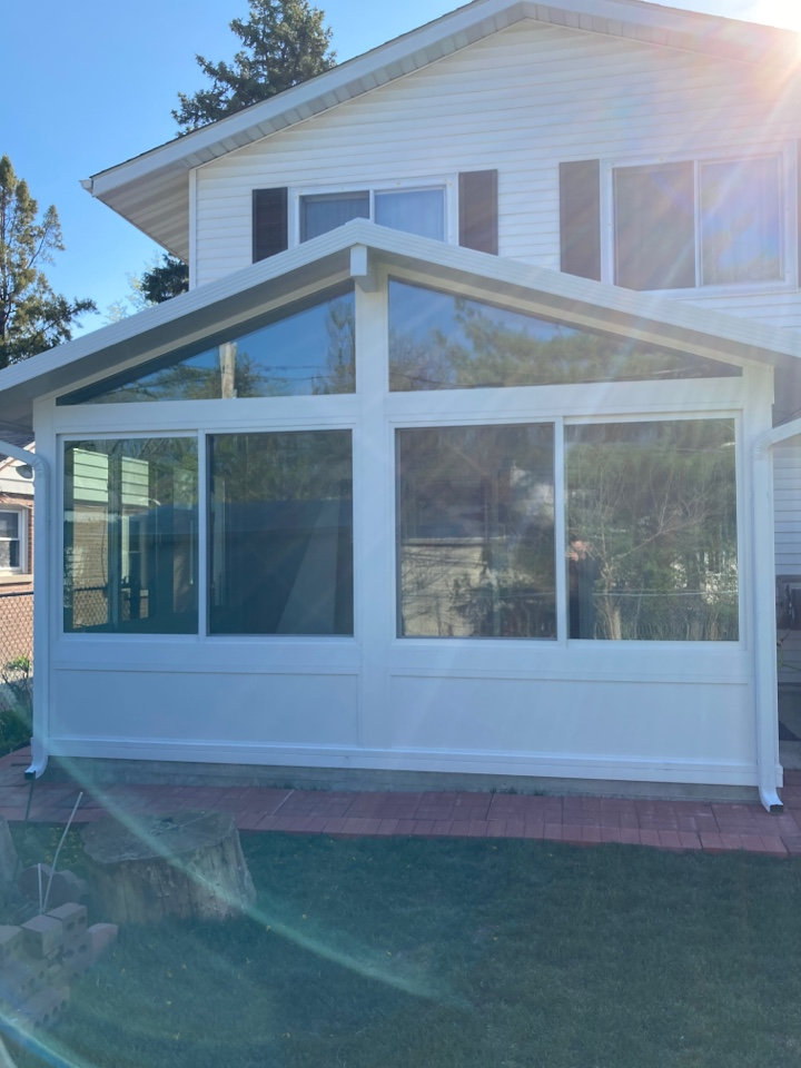 Hinsdale, IL - Sunroom addition done by Sunrooms By Envy