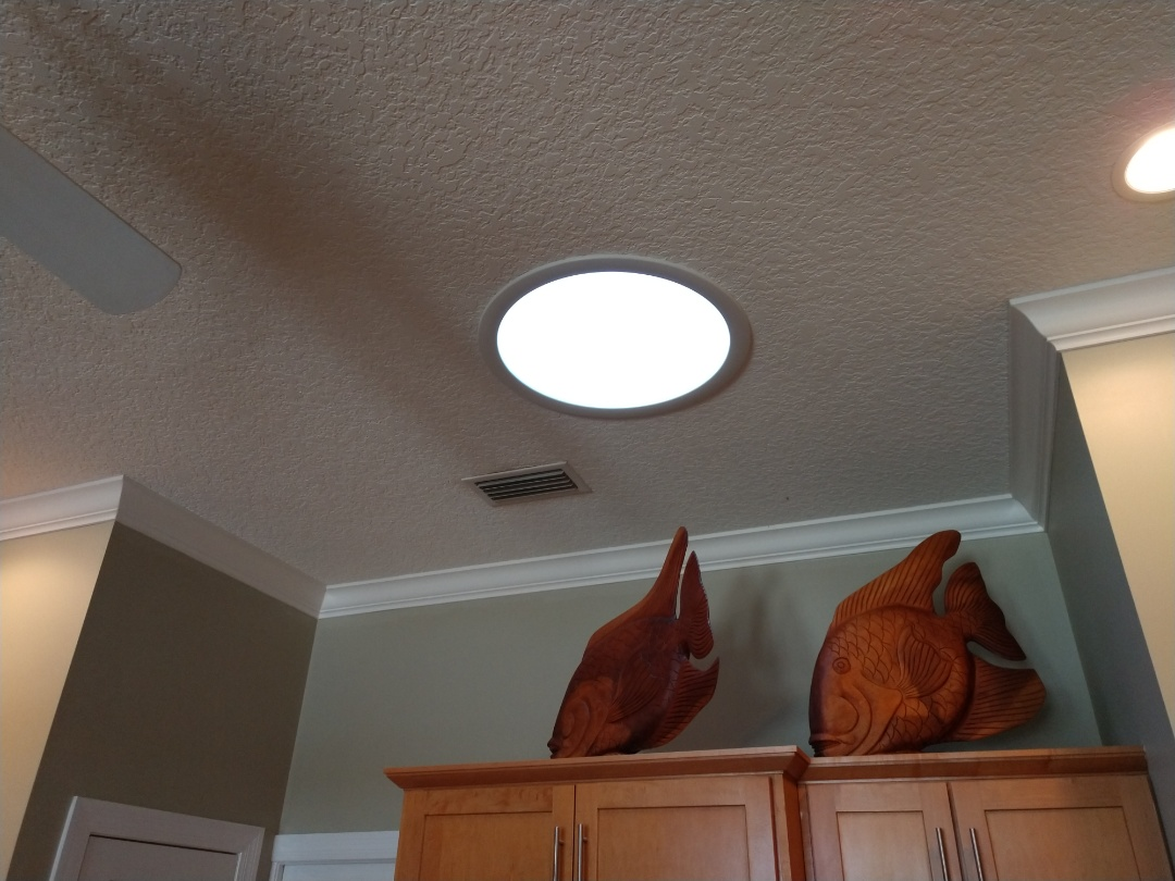 St. Augustine, FL - Nothing brightens a room better than natural light. Velux sun tunnel skylights are a great add-on with a new roof.