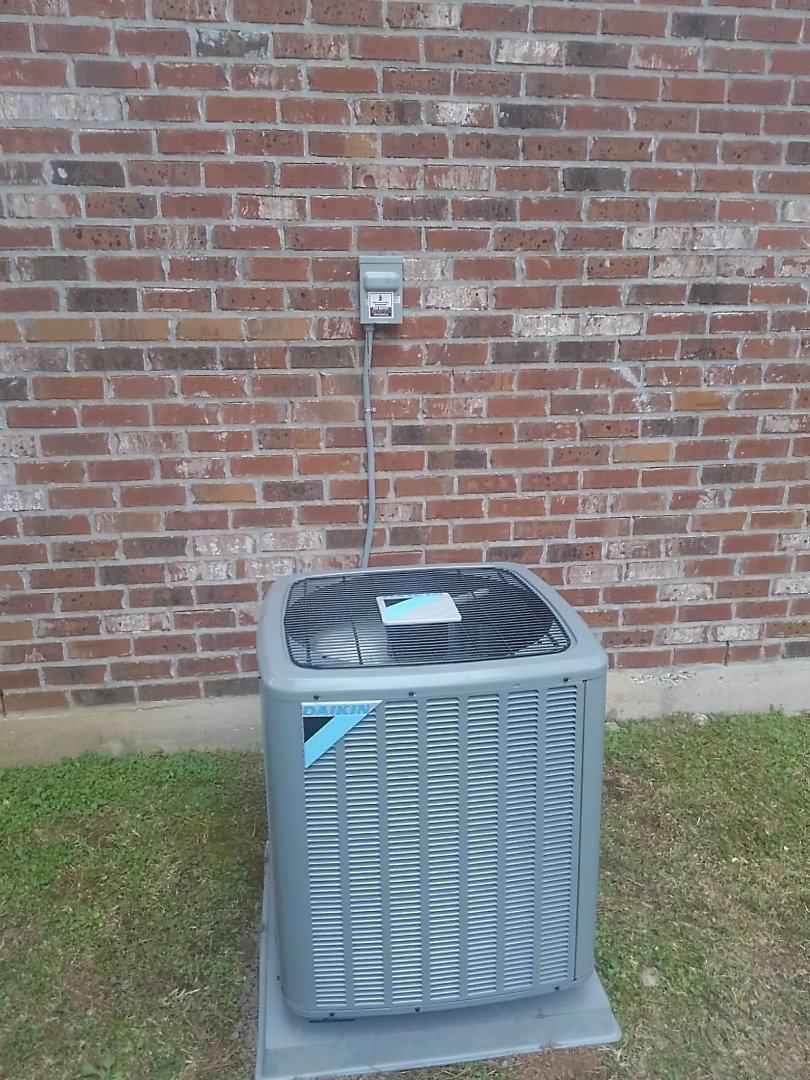 Replaced 3 ton system