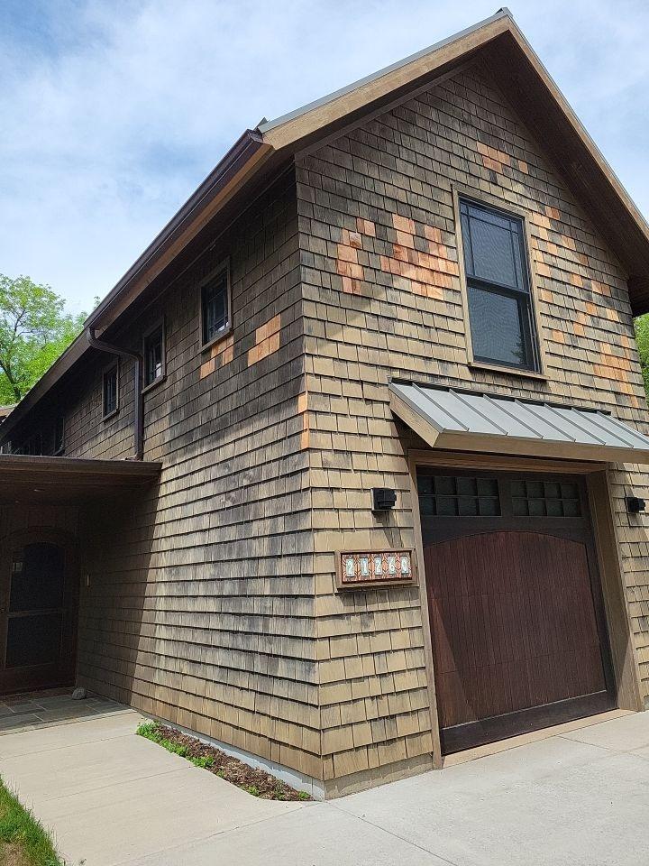 Oak Grove, MN - Cedar shake repair