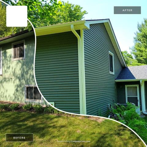 East Bethel, MN - New vinyl siding, soffit/fascia and gutters