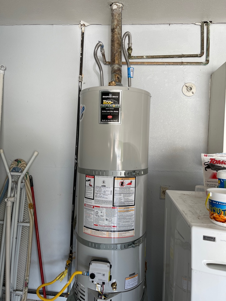 La Puente, CA - YPS installed New water heater and water supply lines