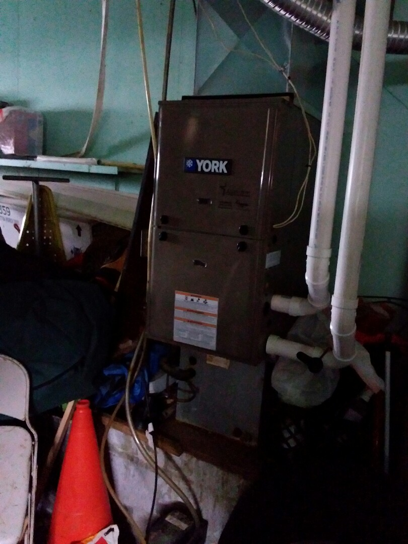 Repair electrical supply issue to York high efficiency  gas furnace