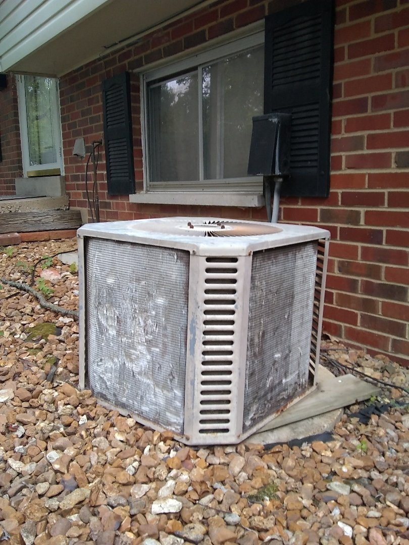 I evaluated an air conditioner for replacement.