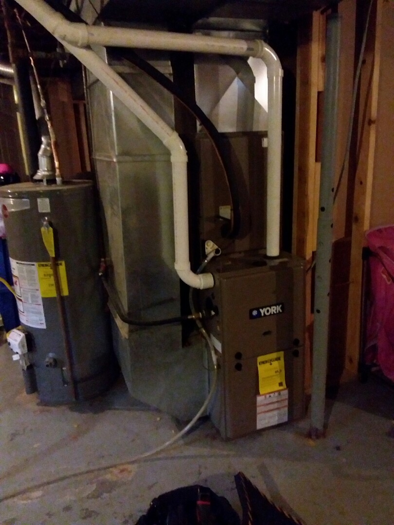 Replace defective pressure switch on A York high efficiency system in Granite city