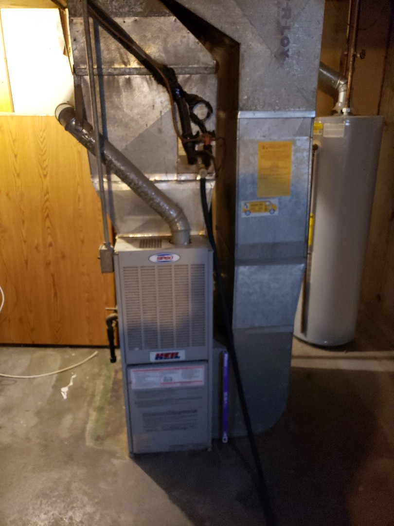 Replacing a old furnace and air conditioner